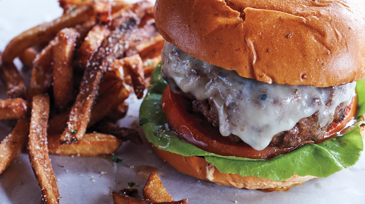 Beef and Bacon Cheeseburgers from Wyebrook Farm