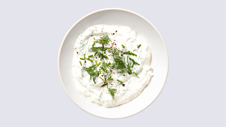 Yogurt-Ranch Dipping Sauce Lauryn Tyrell