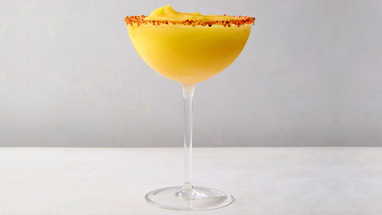 Spicy-Sweet Frozen Mango Margarita