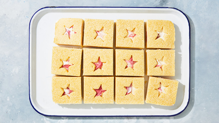 Star-Spangled Ice Cream Sandwiches