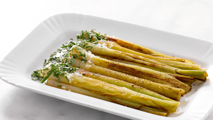 Simple Braised Leeks