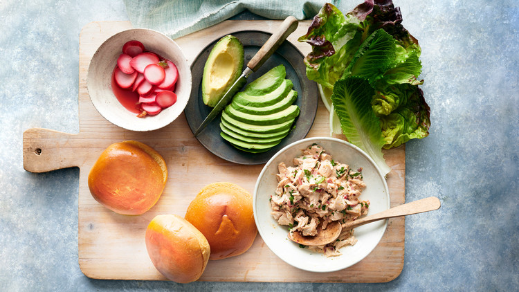 Hacked Chipotle-Chicken-Salad Sandwiches