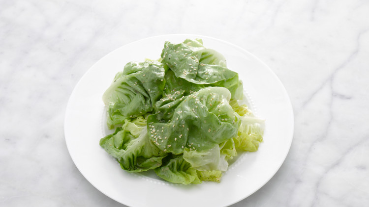 Stacked Butter Lettuce Salad