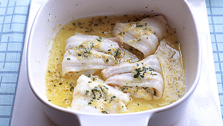 Lemon-Horseradish Sole