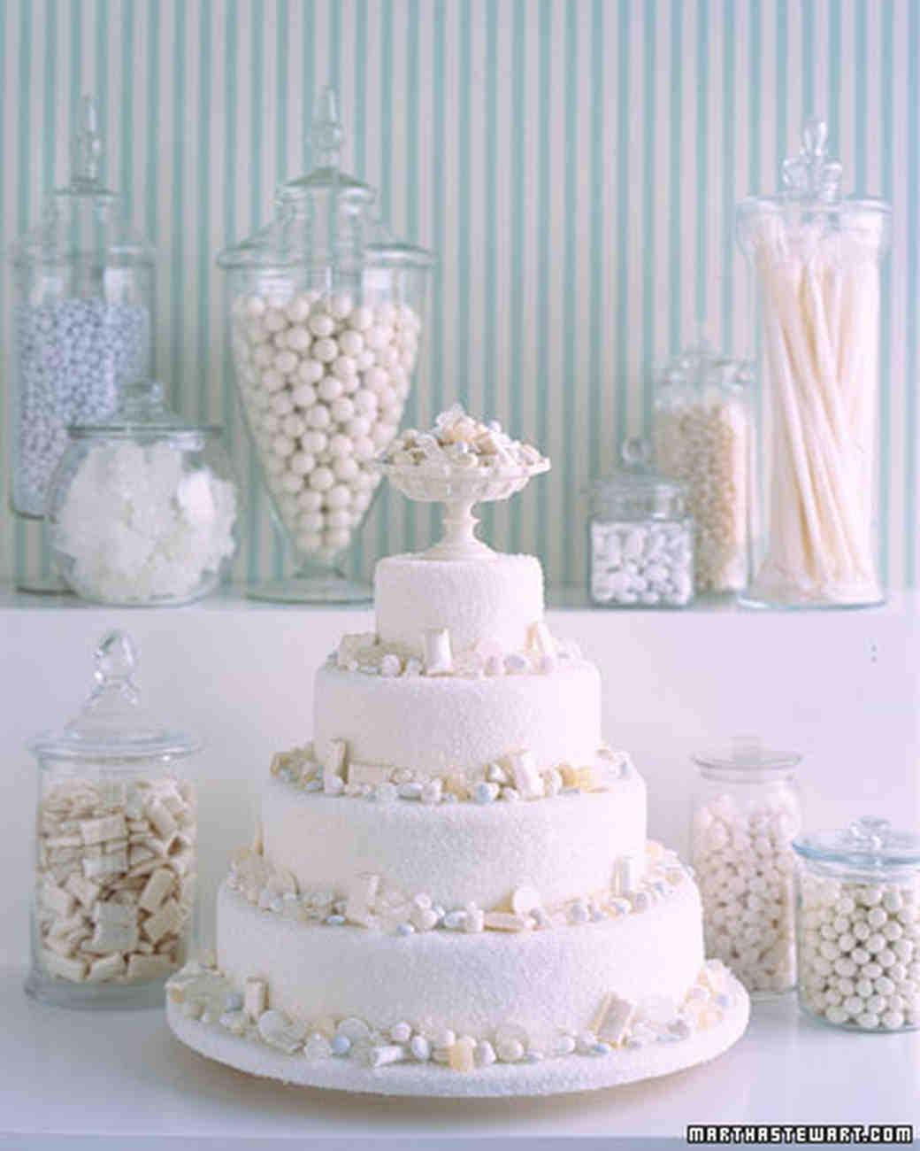 White Candy Windfall Cake