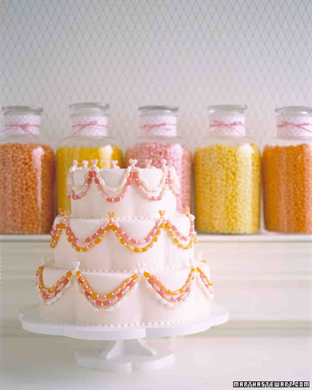 Jelly Bean Jewel Box Cake
