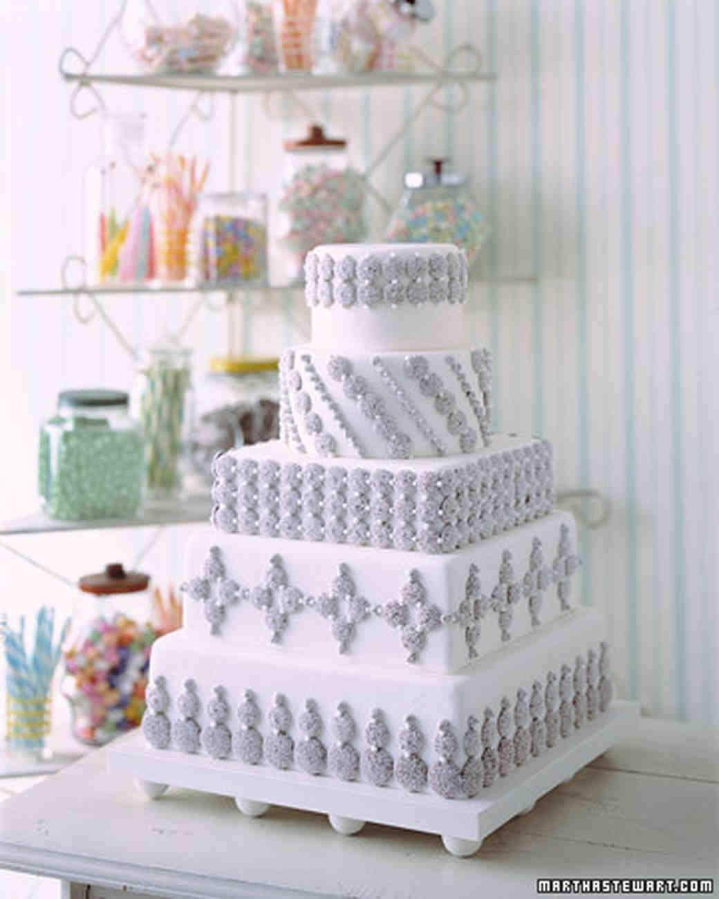 Nonpareil Tower Cake