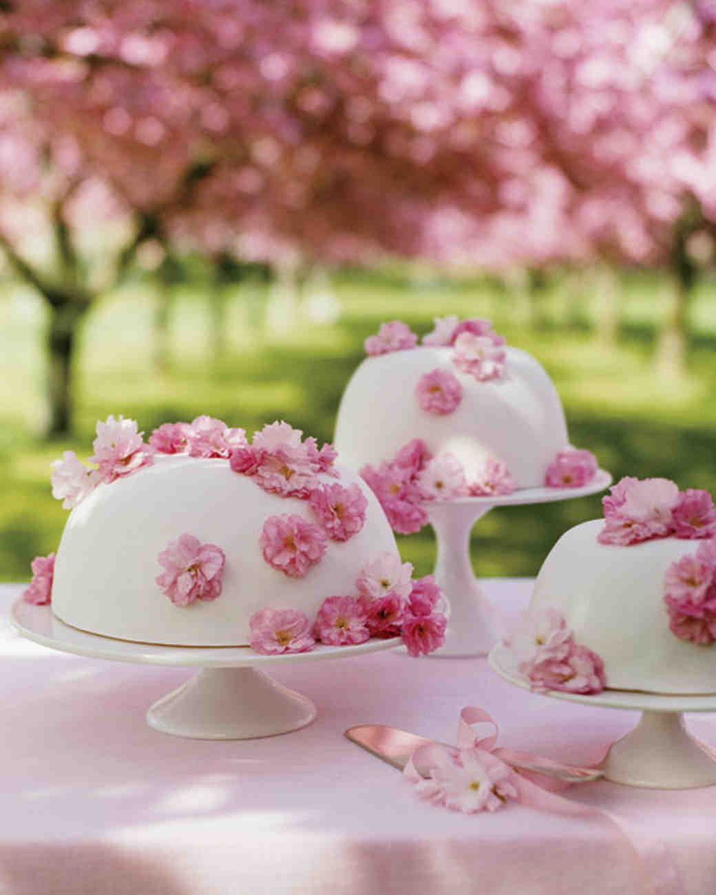 Cherry-Blossom Princess Cake
