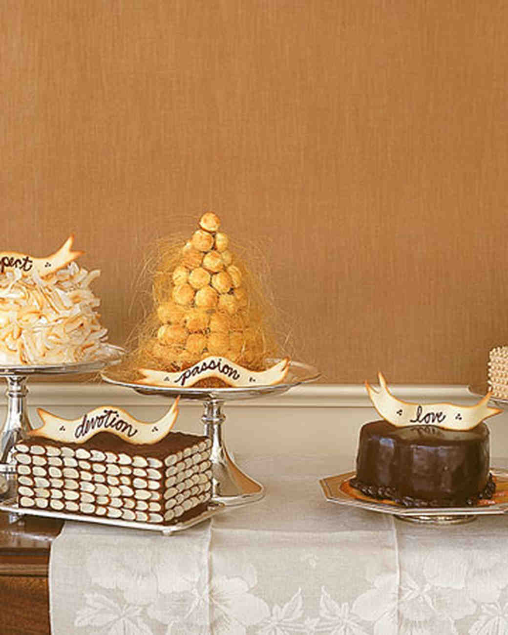 Five Little Cakes: Croquembouche