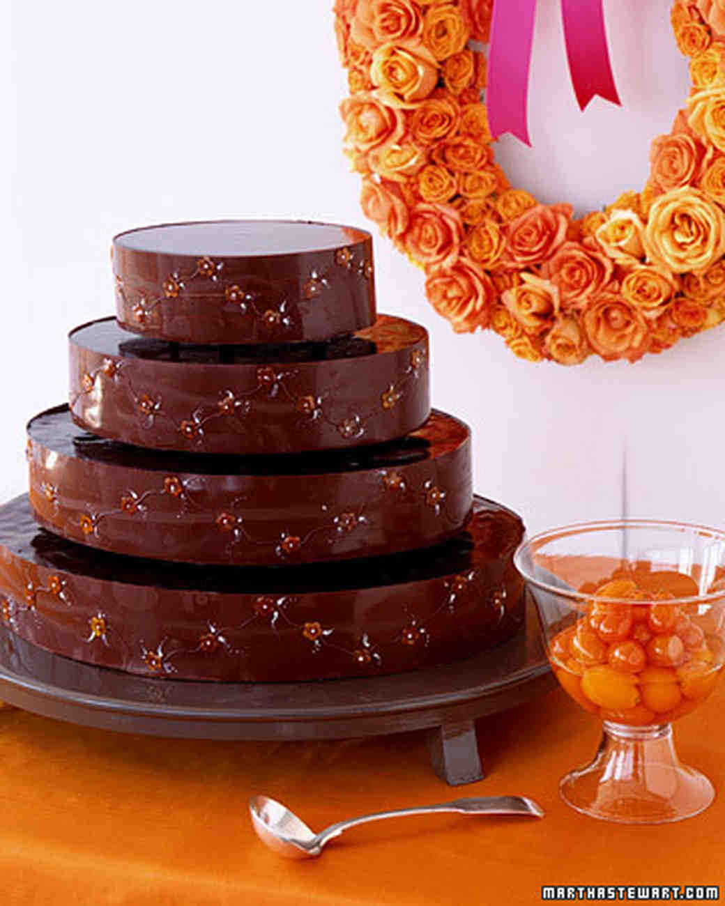 Chocolate Cakes: Chocolate Kumquat Cake