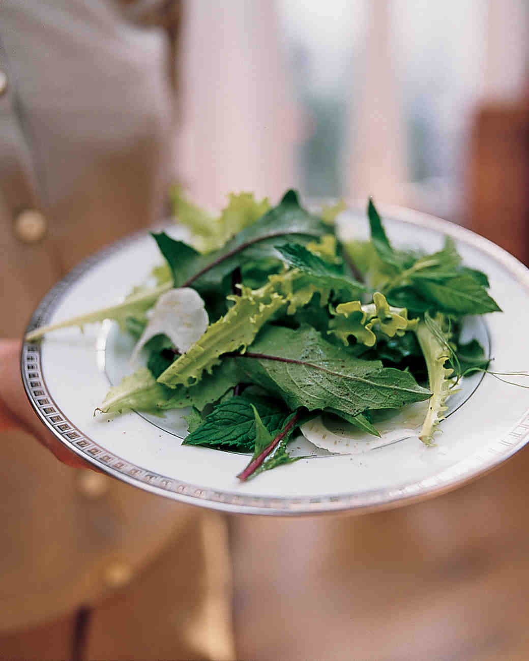 Salad of Bitter Greens and Shaved Fennel