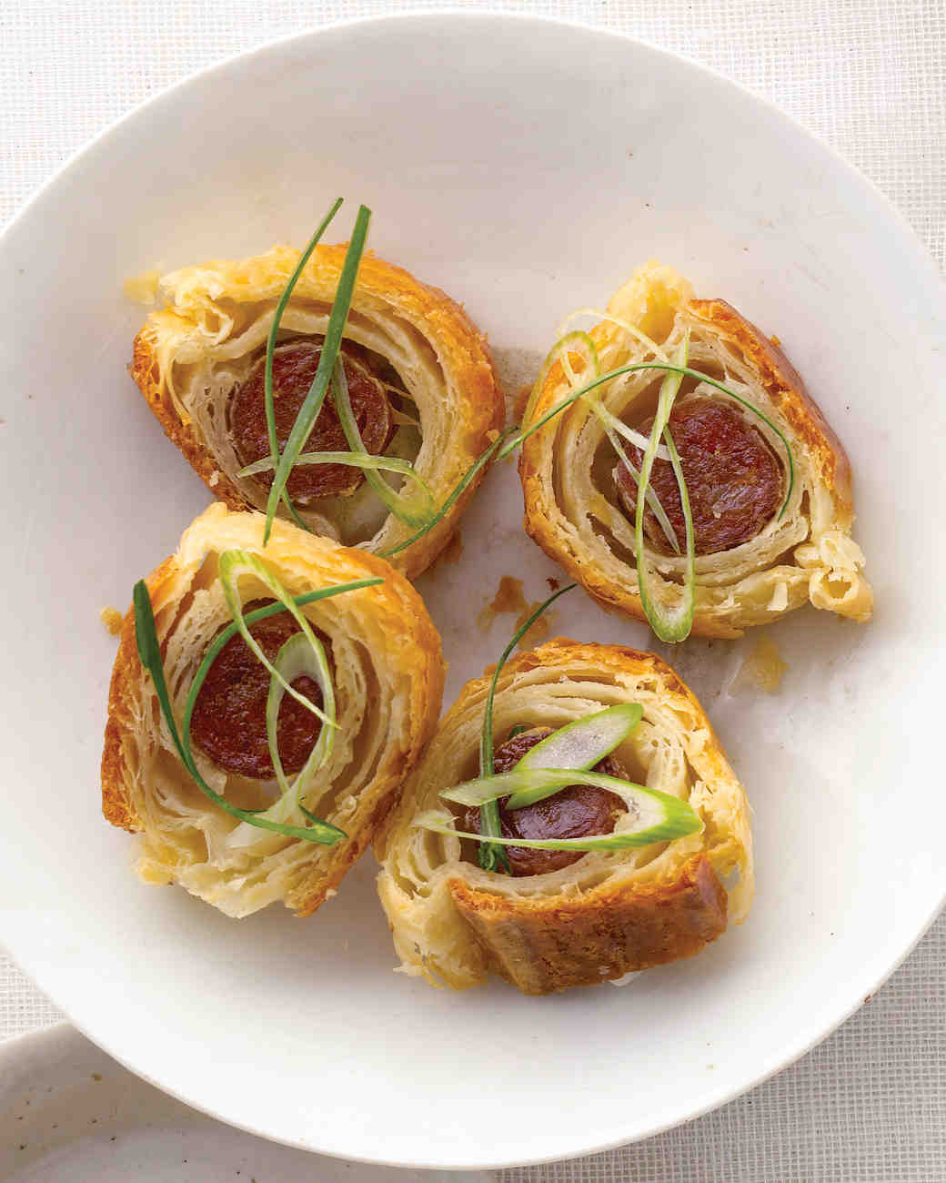 Chinese Sausage in a Blanket