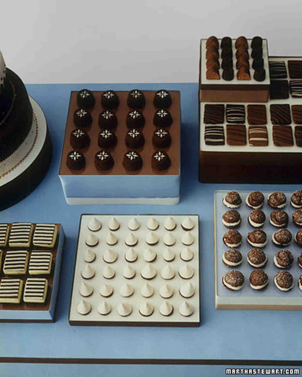 White-Chocolate Semifreddo Brownie Squares