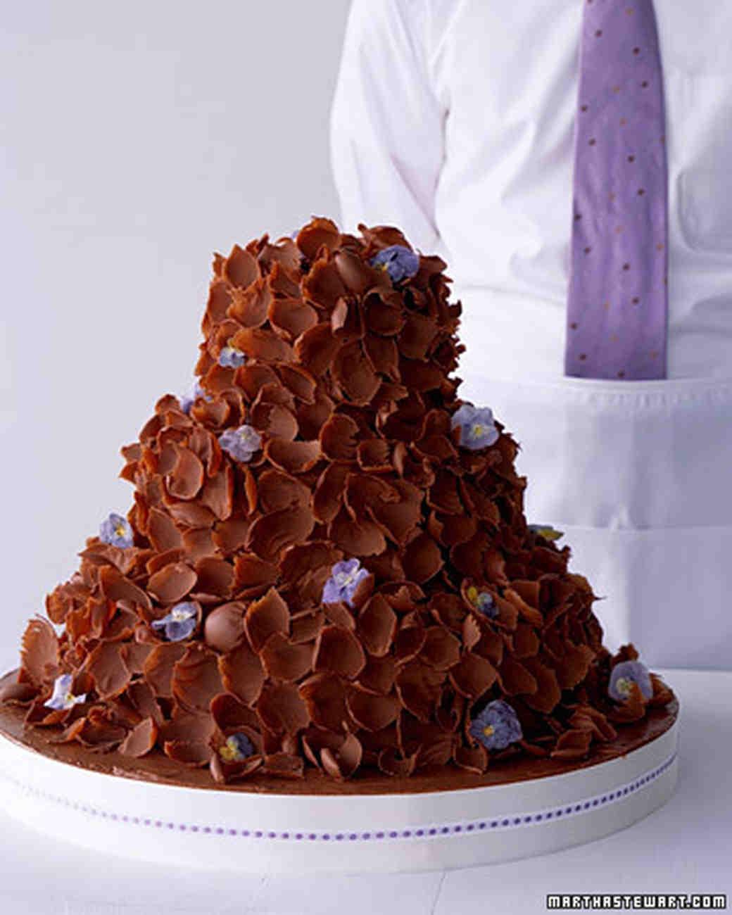 Chocolate Cakes: Chocolate Petal Cake