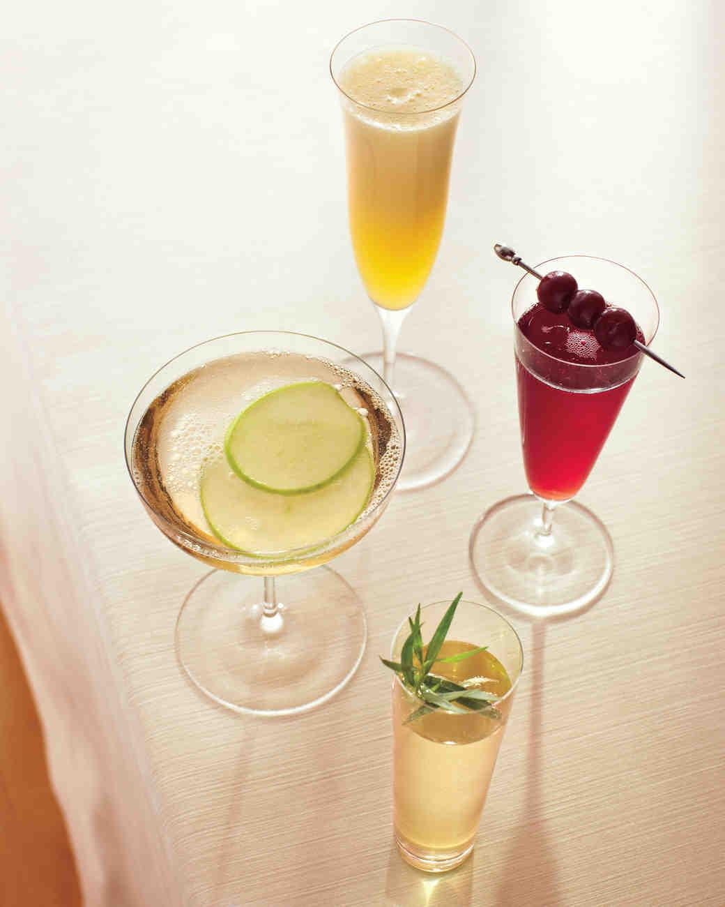 Tarragon-Prosecco Cocktail