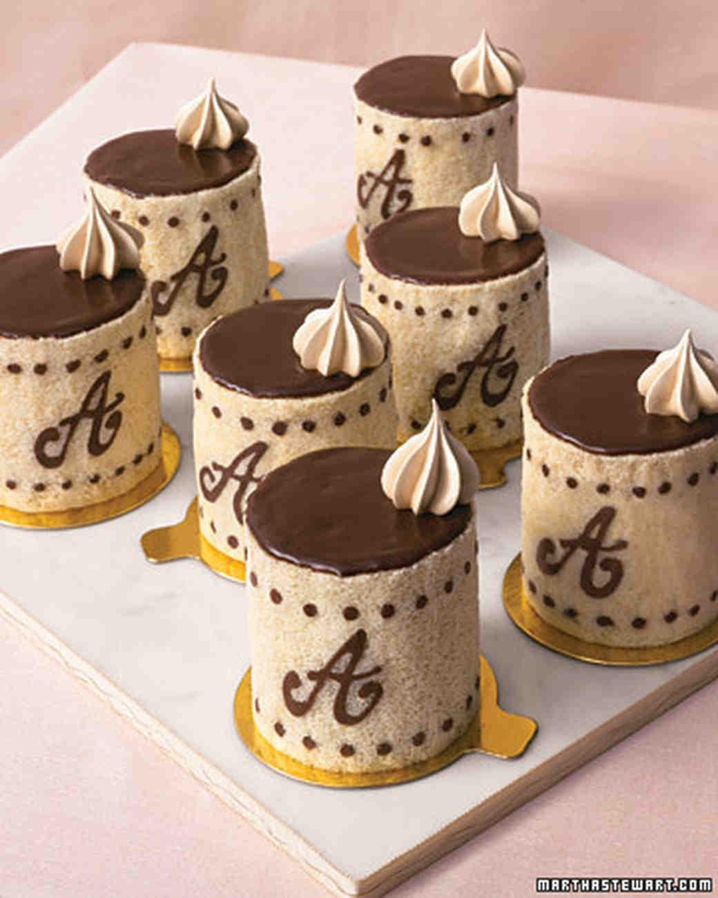 Individual Chocolate-Espresso Charlottes