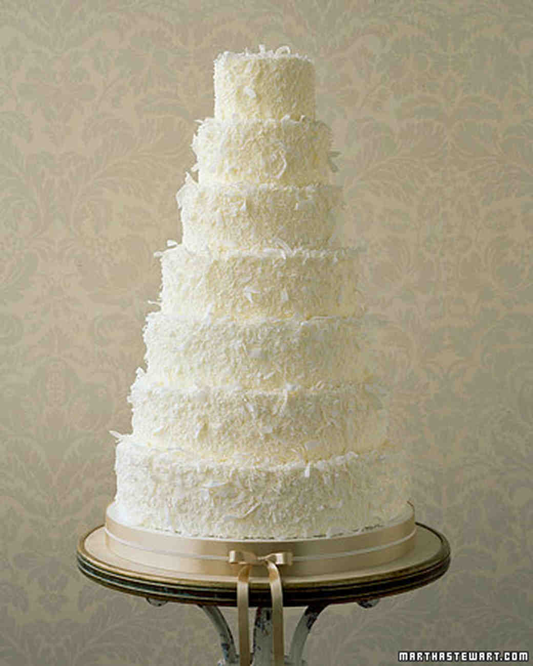 Dreamy Coconut Wedding Cake