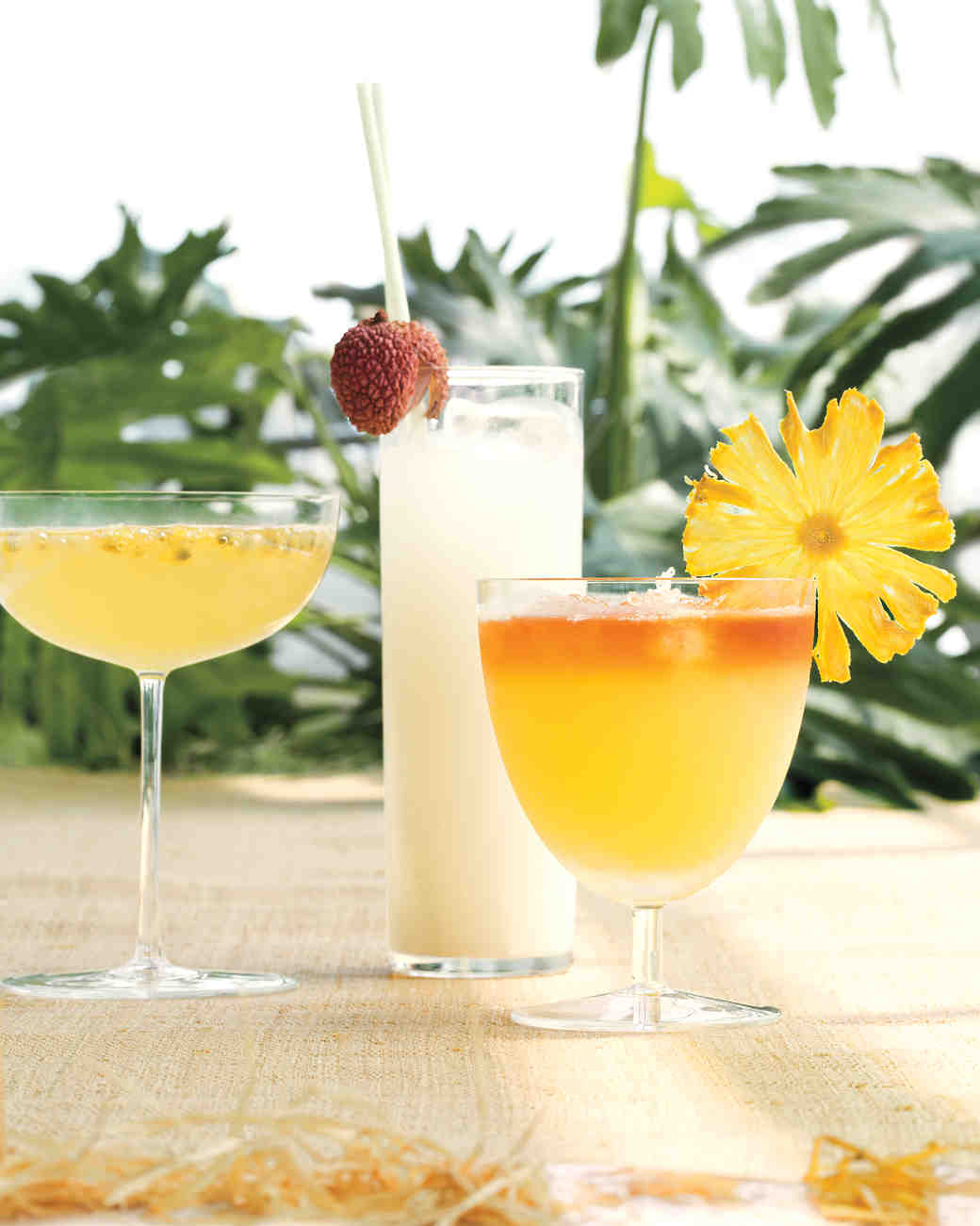 Passion Fruit French 75