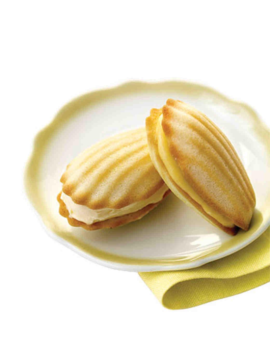 Lemon Curd for Madeleine Cookies