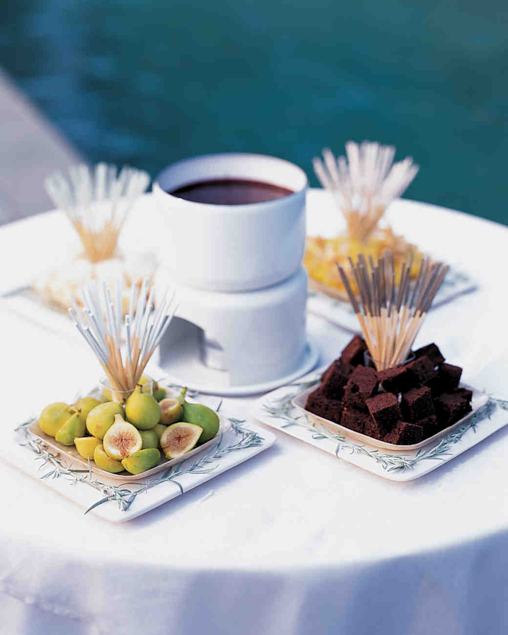 Bittersweet Chocolate Fondue