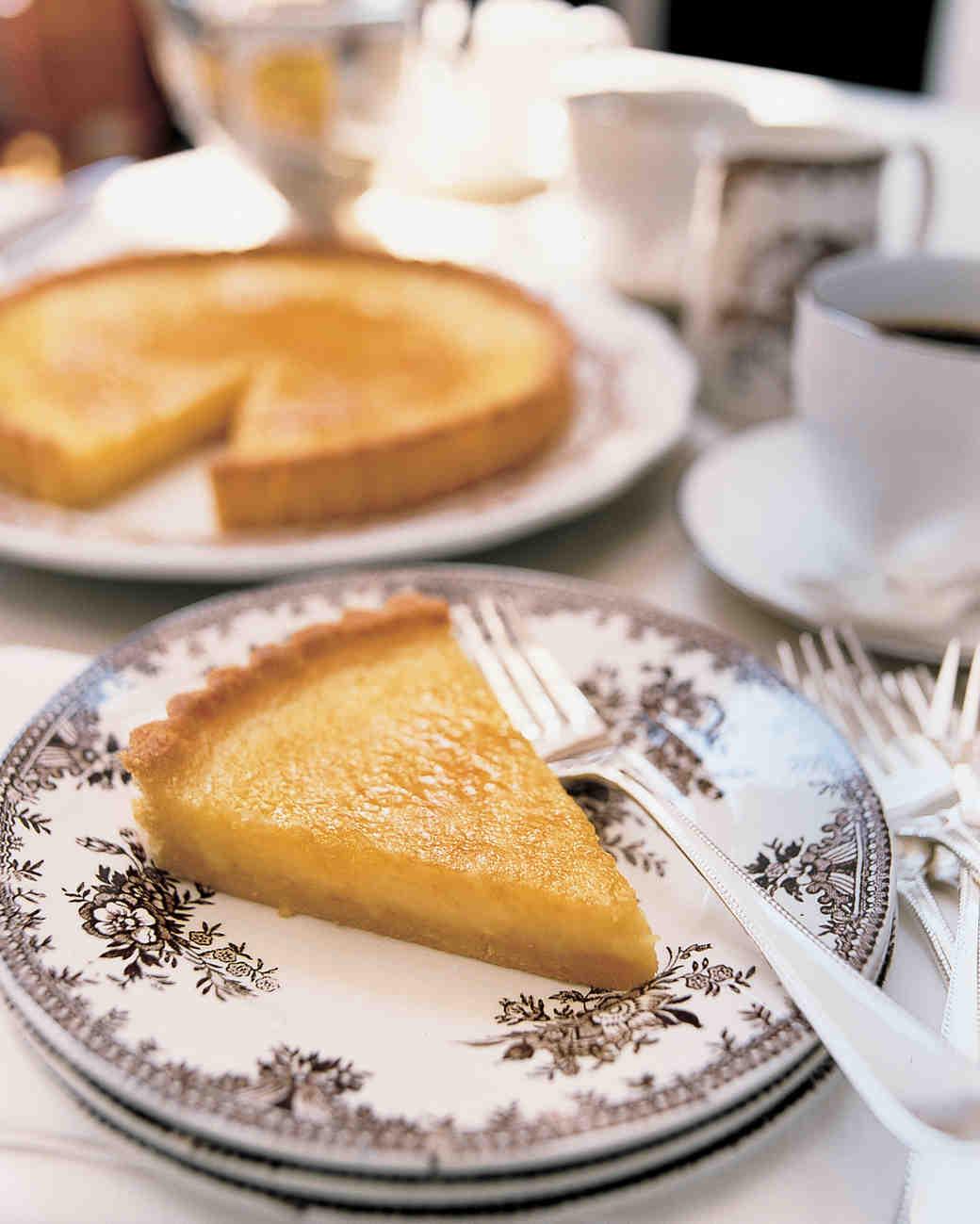 Lemon Tart with Cornmeal Crust
