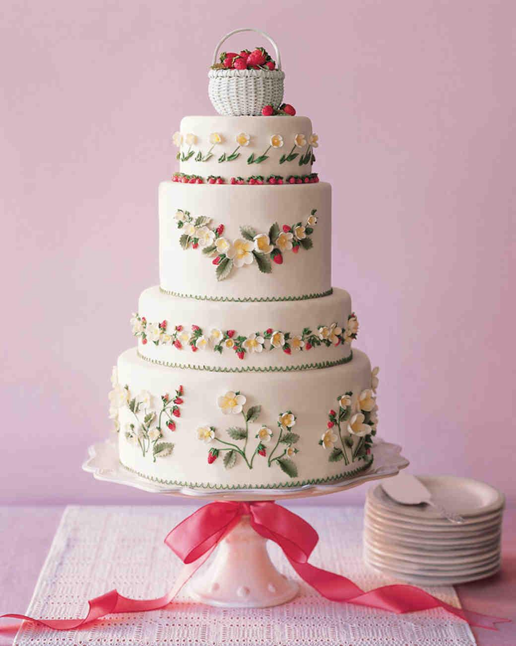 Strawberry Cake Assembly