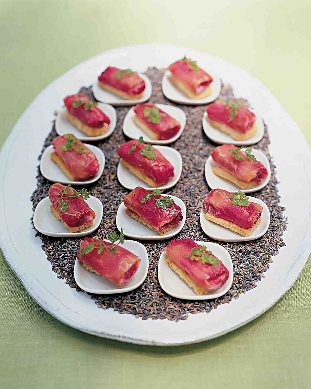 Smoked Salmon with Beets