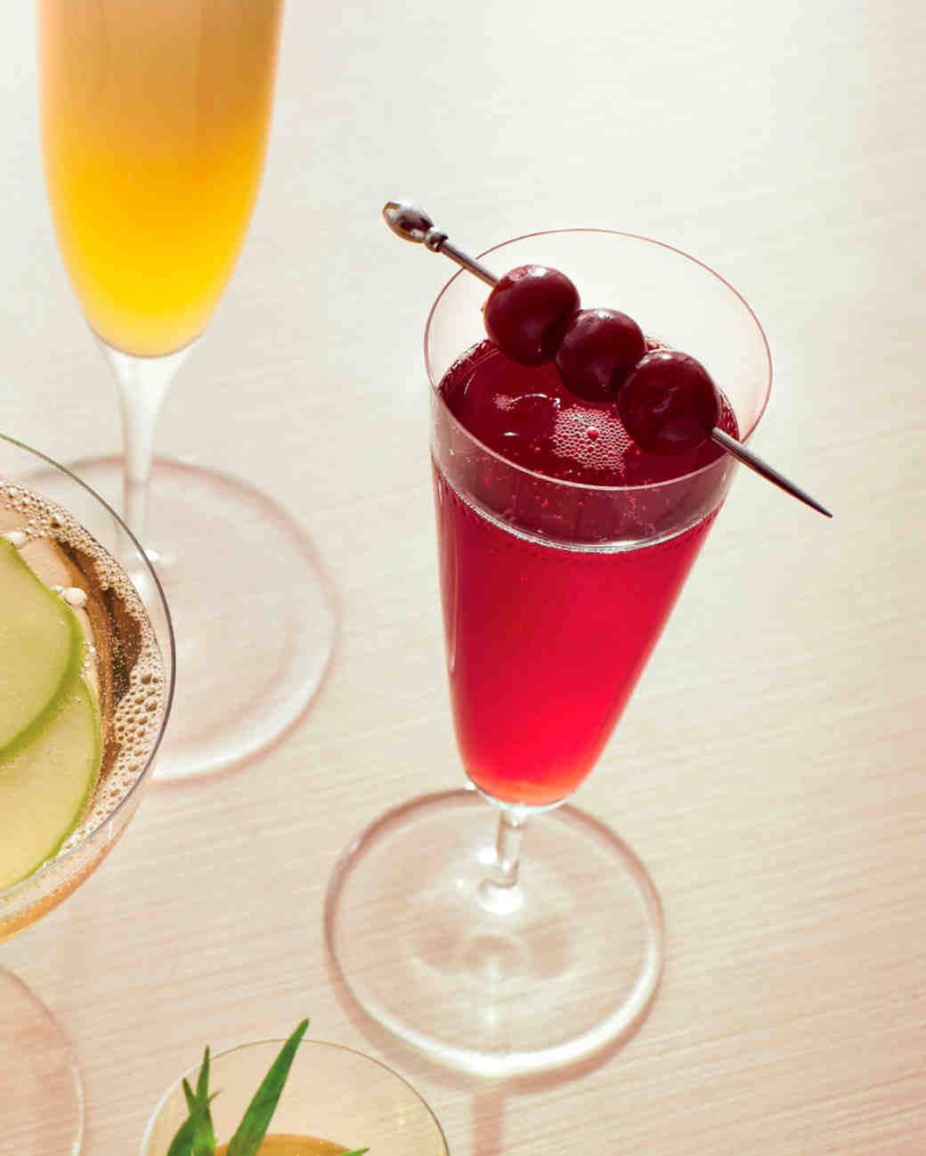 Champagne-Apple Punch