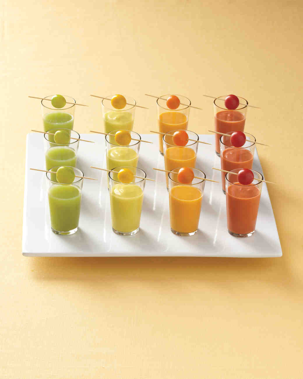 Orange Gazpacho Shooters
