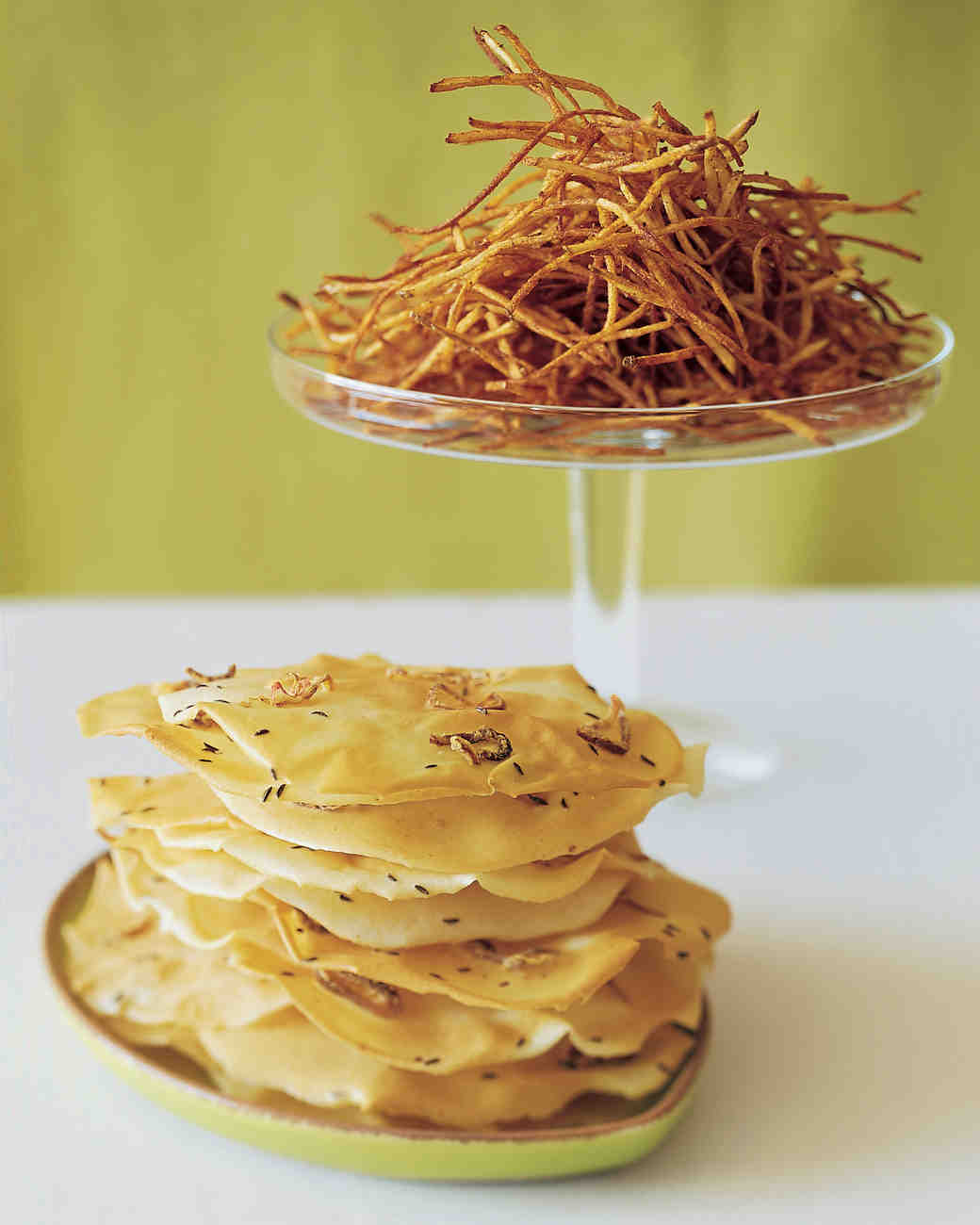 Crisp Shallot and Caraway Tuiles