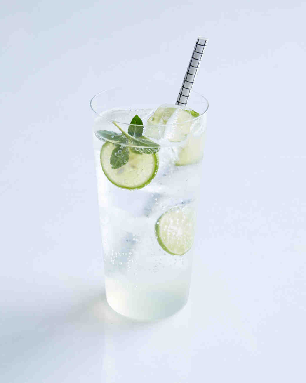 Key Lime and Mint Spritz