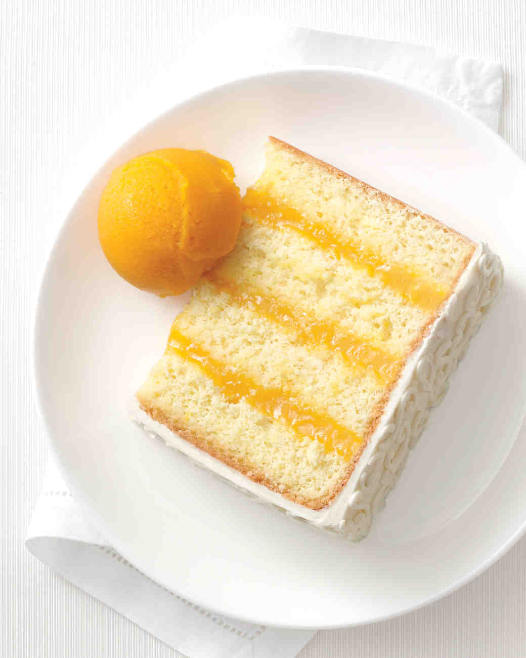 Passion Fruit and Lime Cake