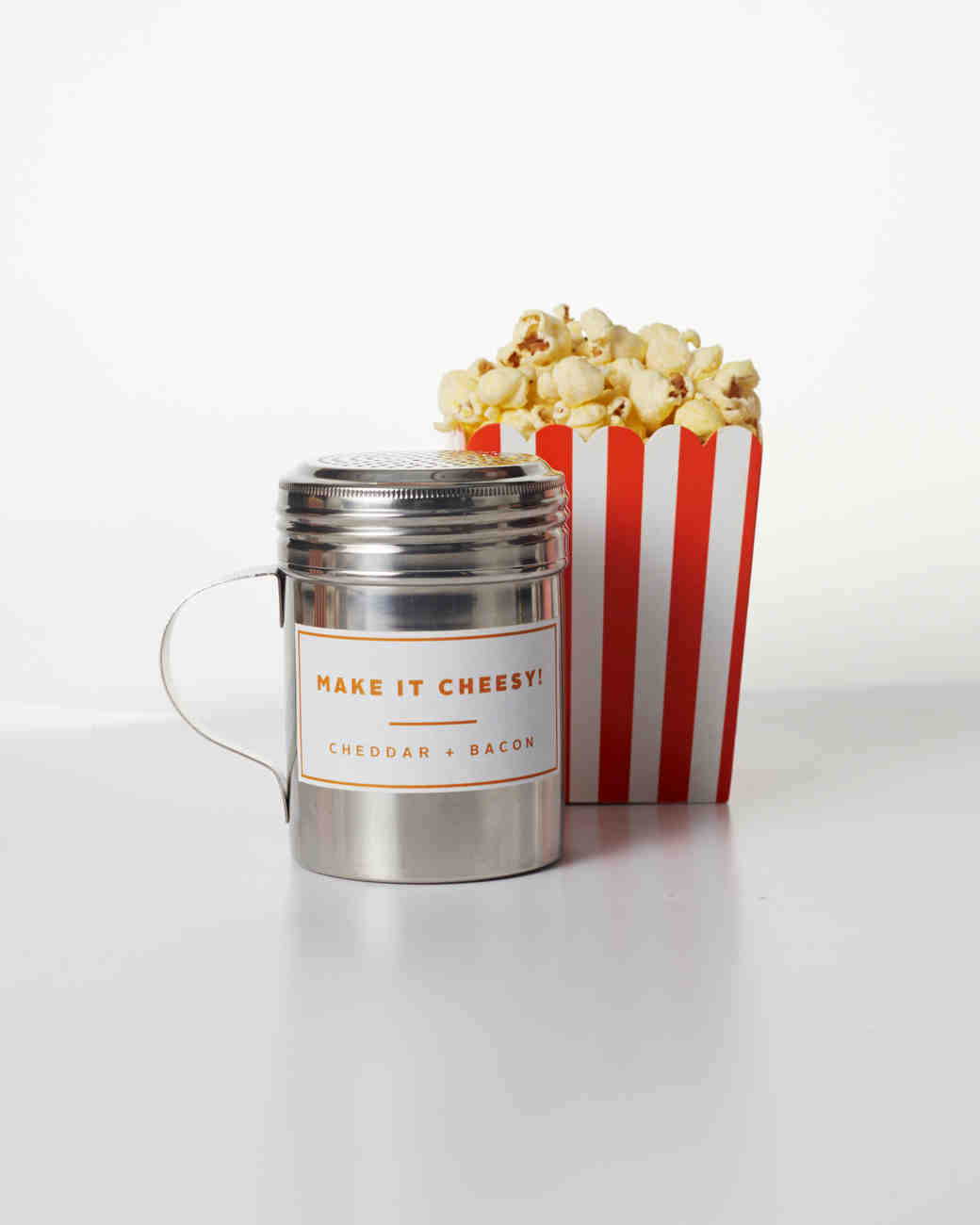 Cheddar and Bacon Popcorn Topping