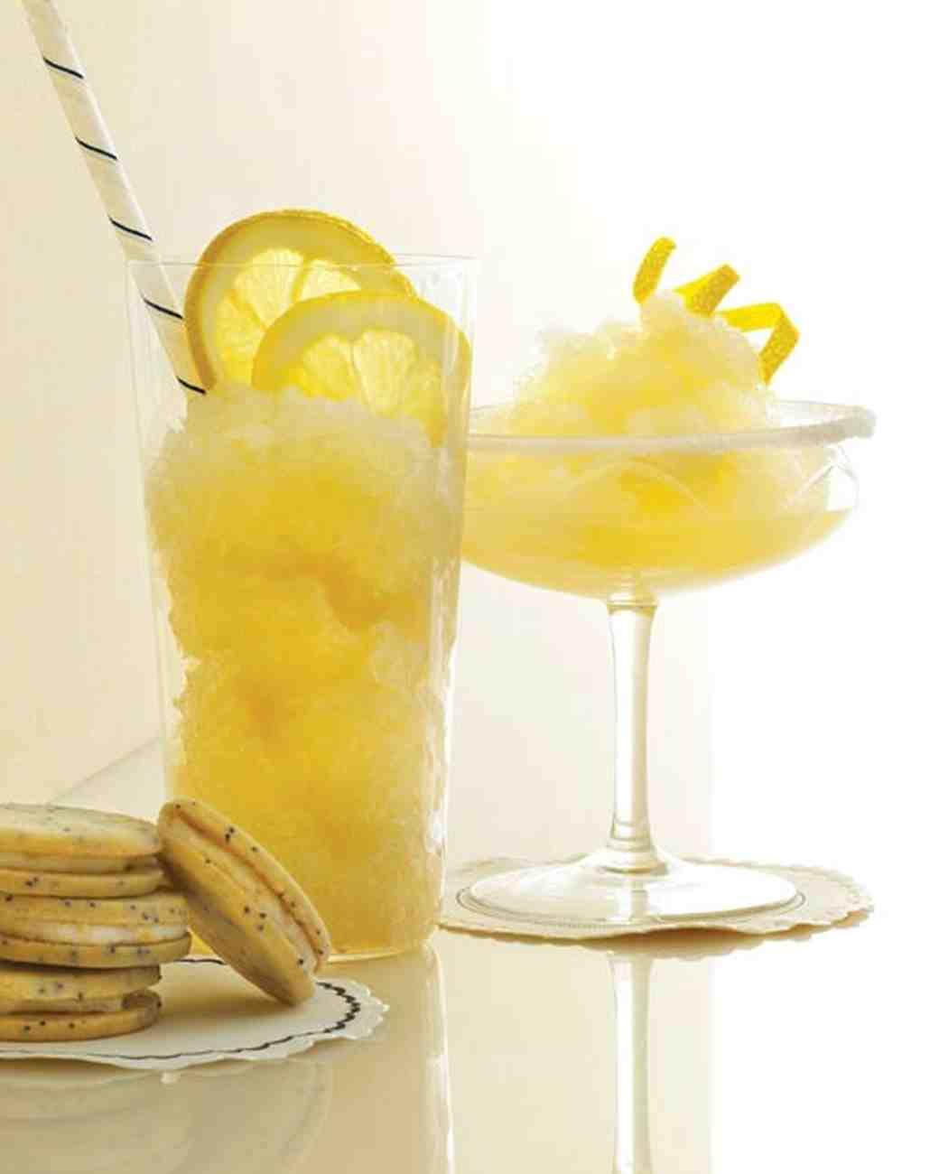 Frozen Ginger Lemonade