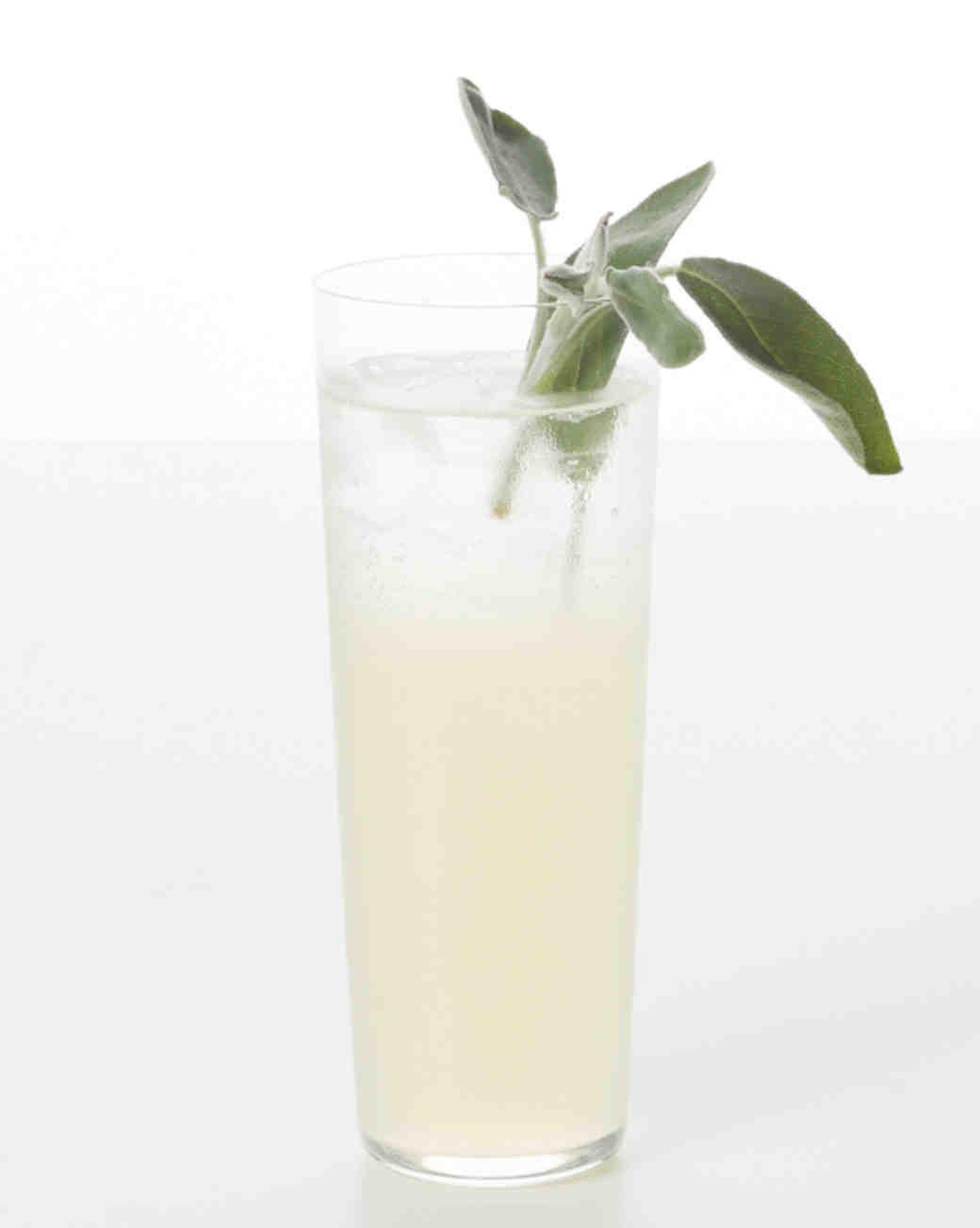 Lemon-Sage Seltzer