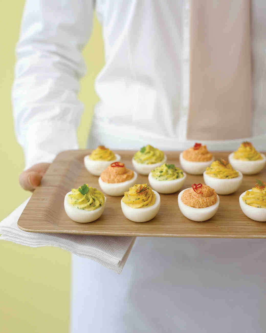 Fresh-Herb Deviled Eggs