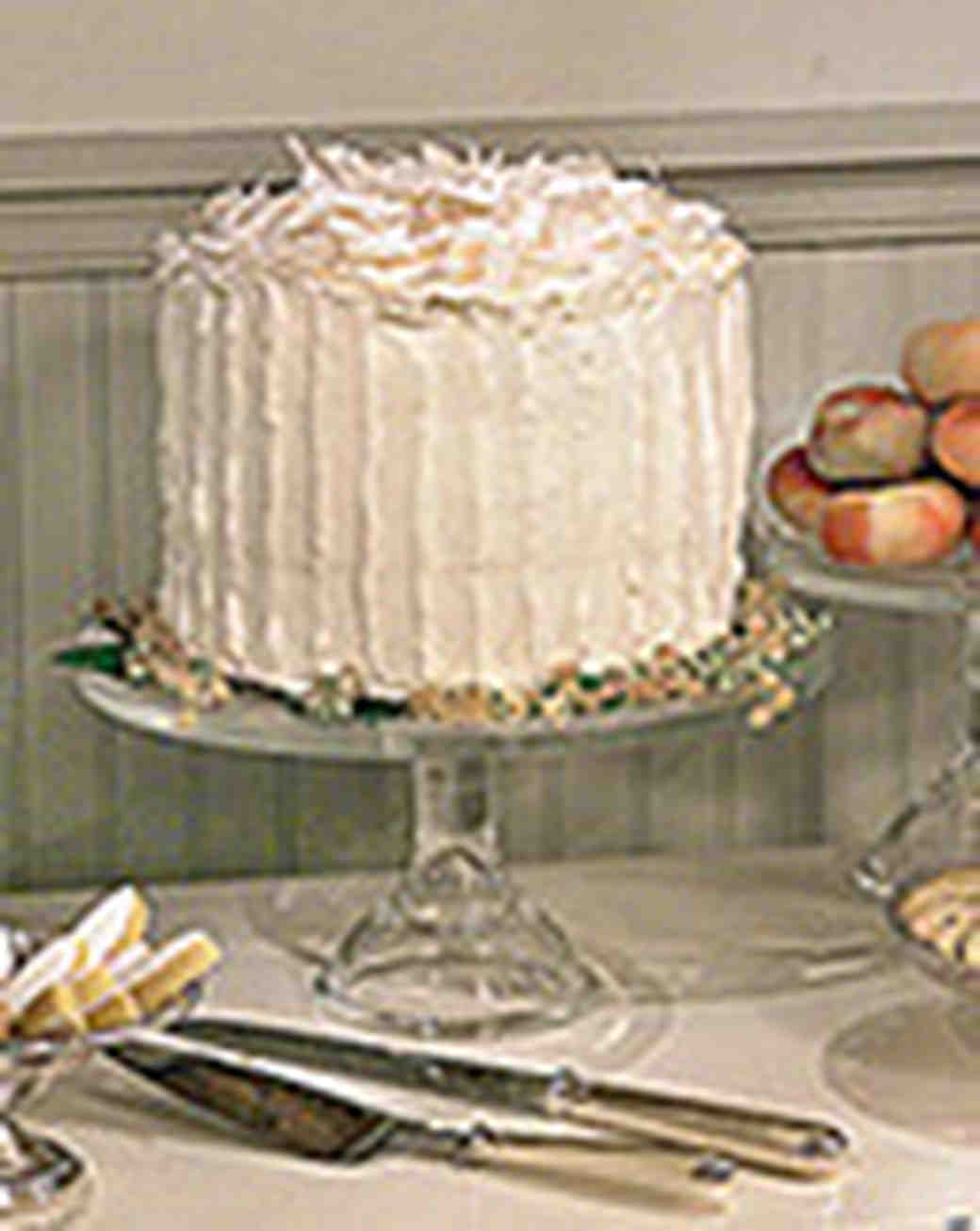 Coconut Column Cake