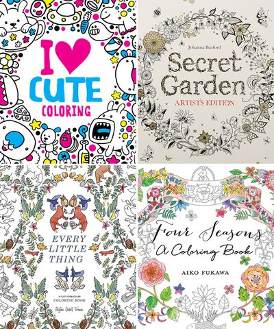6 Coloring Books for Grown-Ups to Help You Find Your Inner ...
