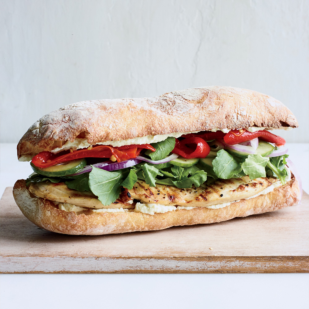 Feta-Brined Chicken Sandwiches