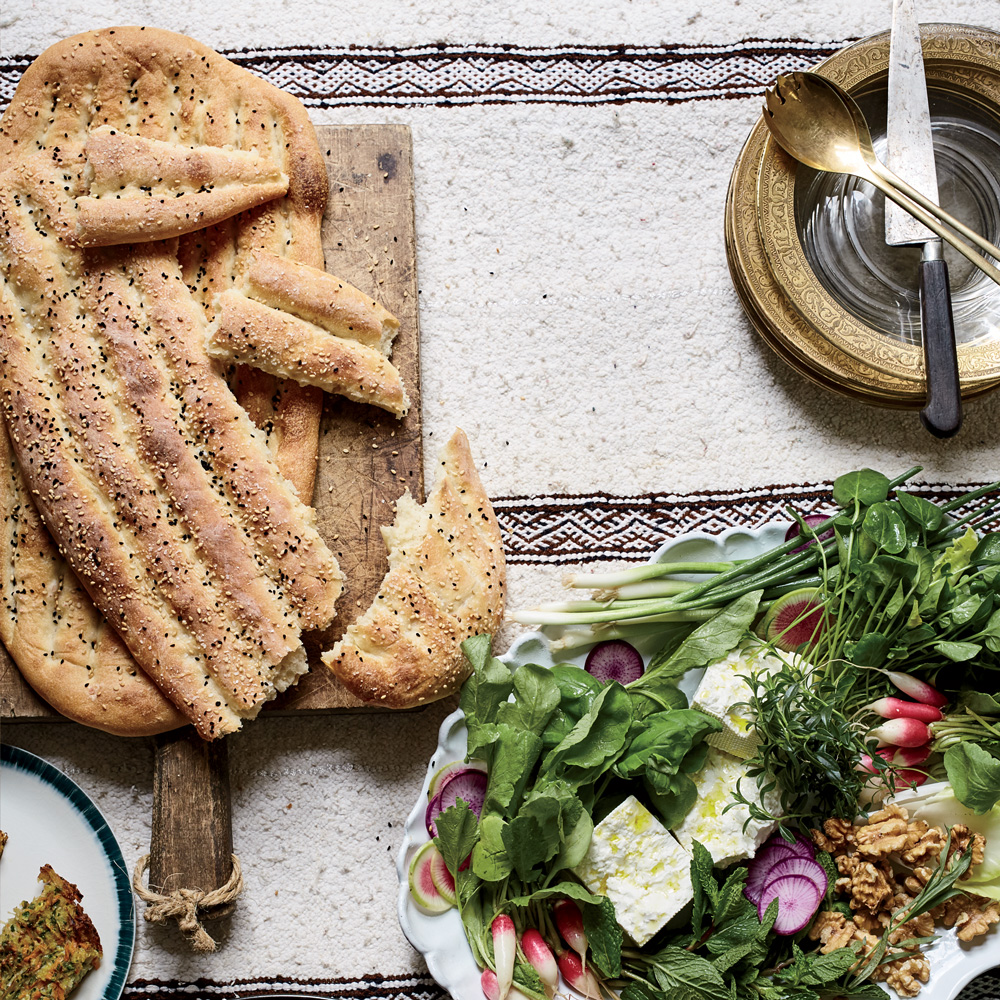 Persian Flatbread (Nan-e Barbari)