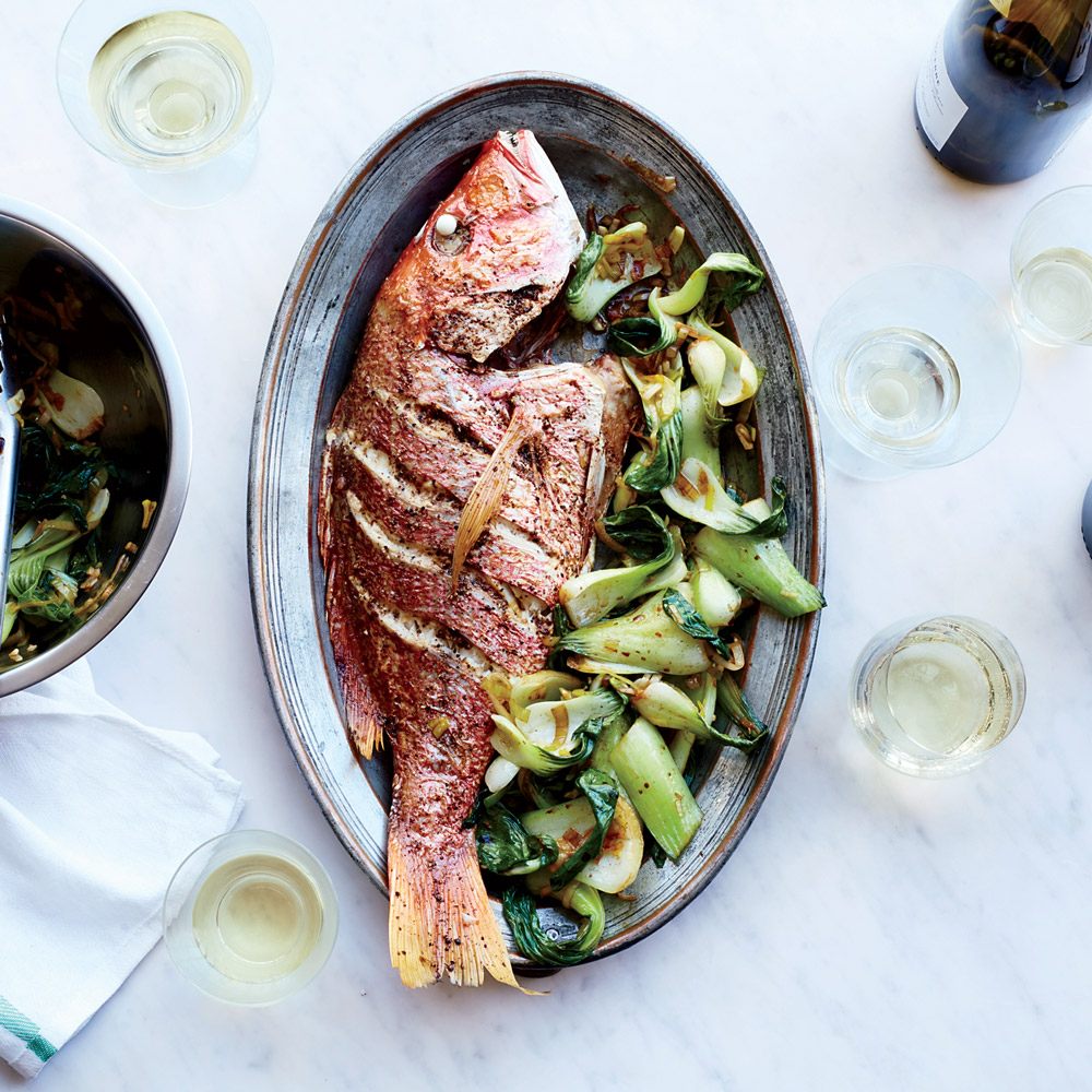 Whole Roast Snapper with Sichuan Butter