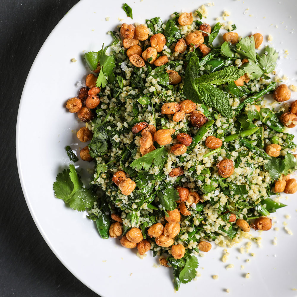 Spring Vegetable and Herb Tabbouleh