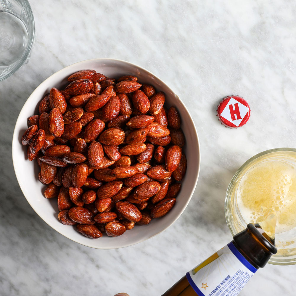 Spiced Candied Almonds