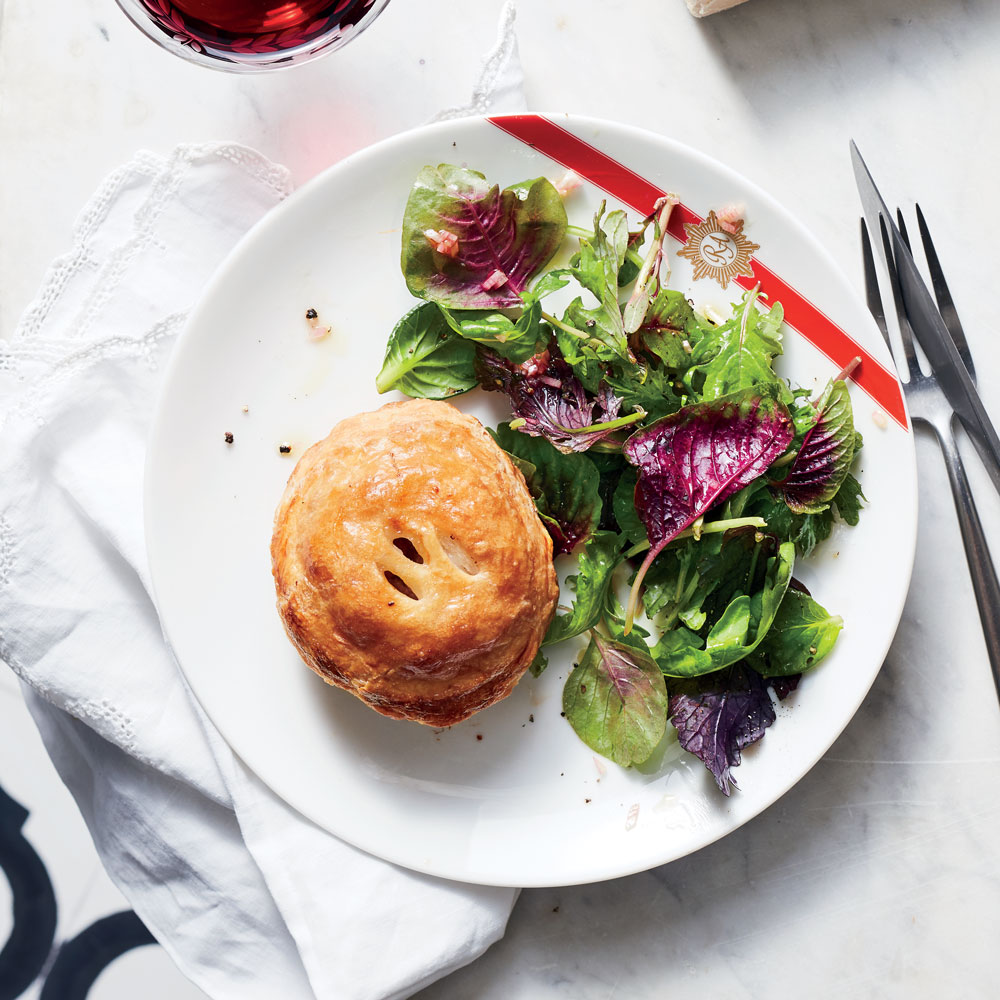 Pork Pies with Pine Nuts and Dried Fruit