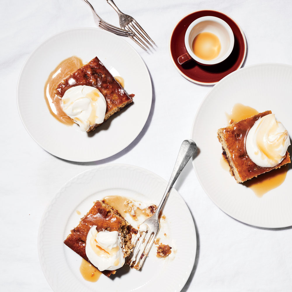 Banana Sticky Toffee Pudding
