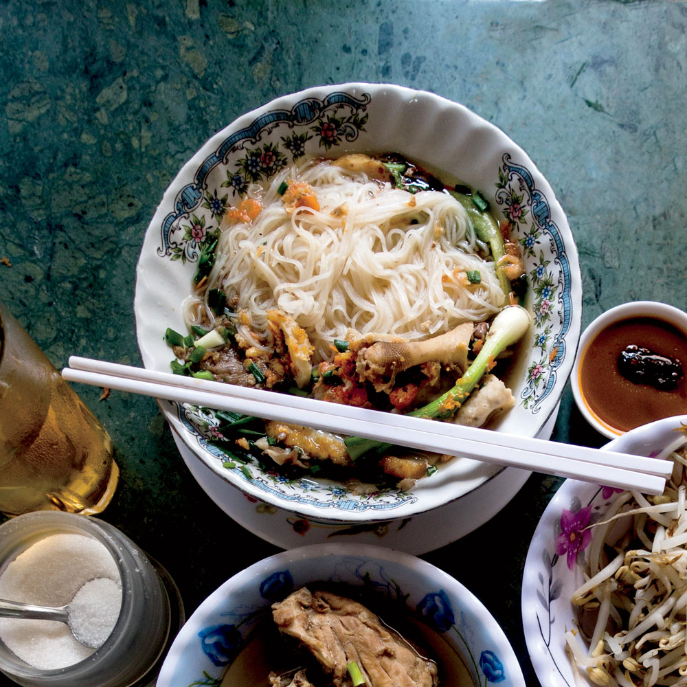 Cambodian Rice Noodle Soup