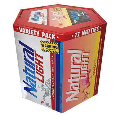 77-Packs Featuring Natural Light's New Strawberry Lemonade Beer Have