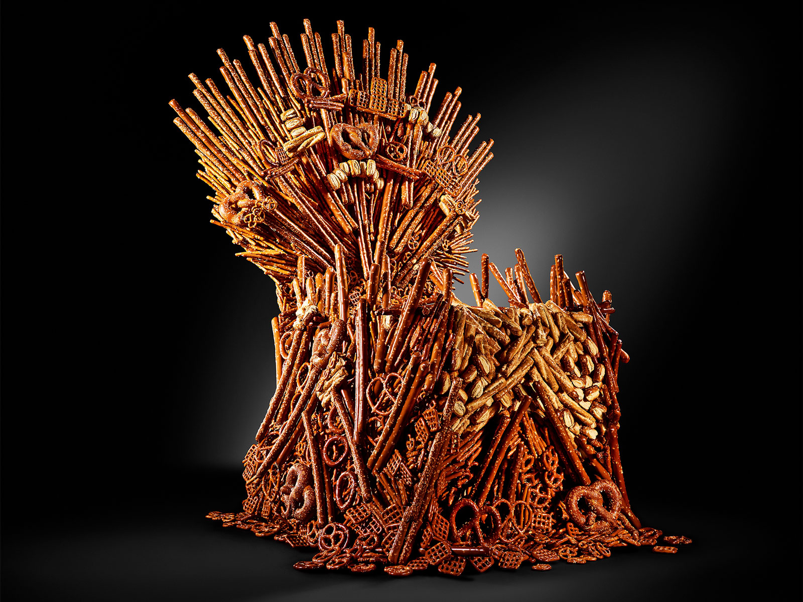 Pretzel Throne