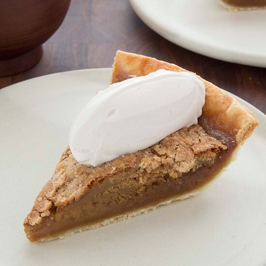Maple Shoo Fly Pie