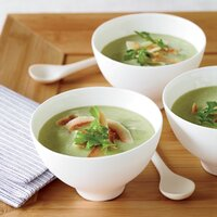 Spicy Avocado-Cucumber Soup